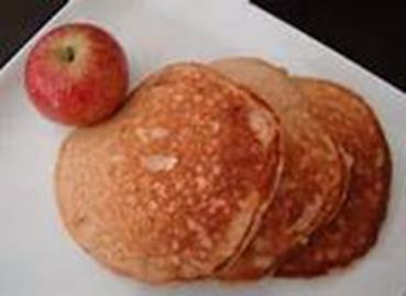 Almond-Apple-Grain-Free-Pancakes
