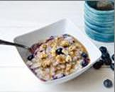 Maple-Tahini-Blueberry-Oatmeal