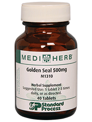 Golden Seal 500mg - 40 Tablets (M1310)
