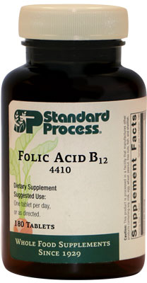 Folic Acid B12 - 180 Tablets (4410)