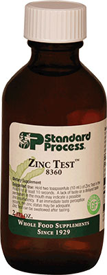 Zinc Test - 2 fl. oz. (60 mL) (8360)